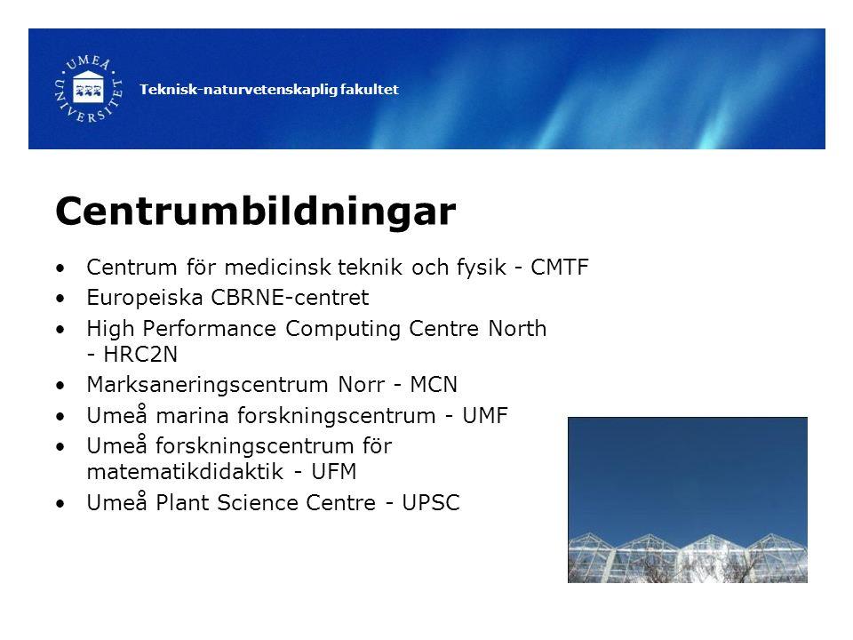 Centrumbildningar Centrum för medicinsk teknik och fysik - CMTF