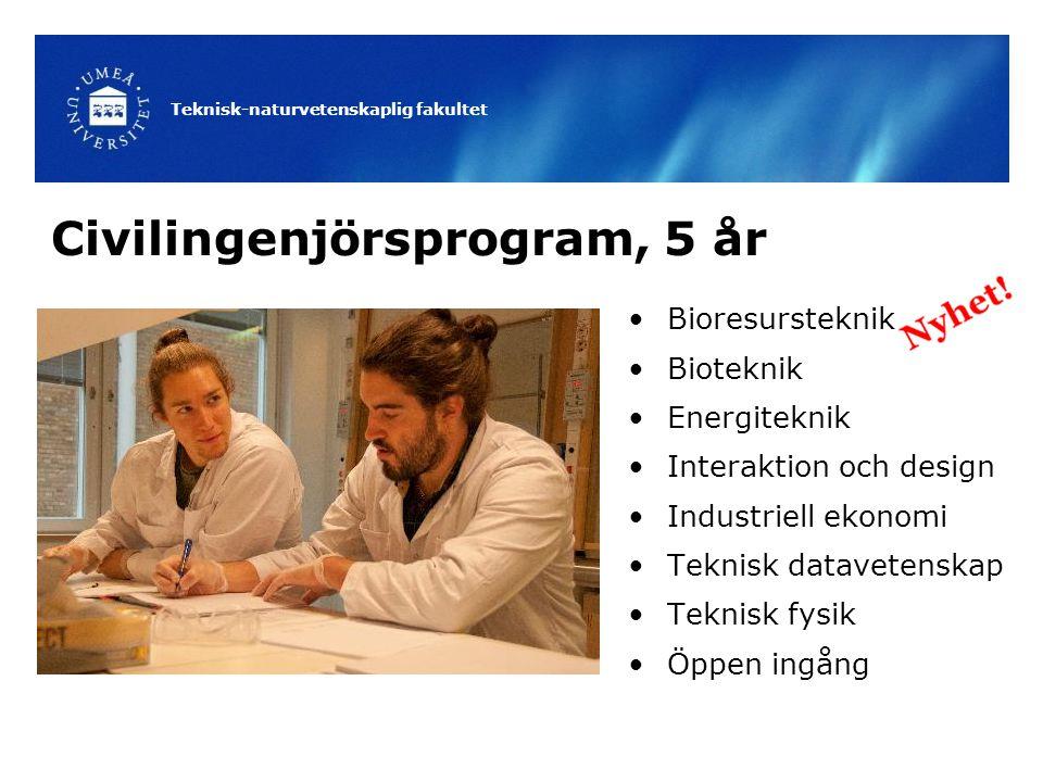 Civilingenjörsprogram, 5 år