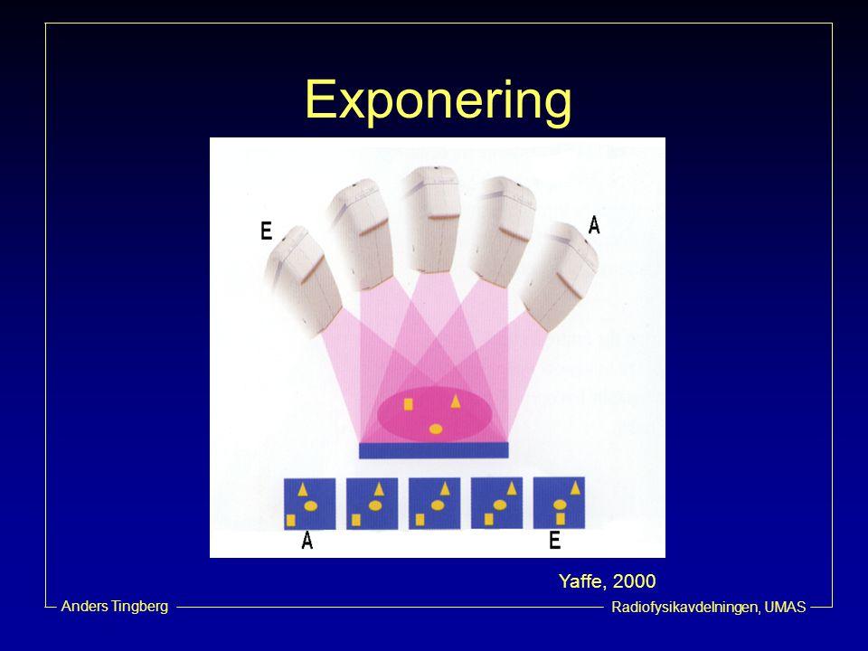 Exponering Yaffe, 2000