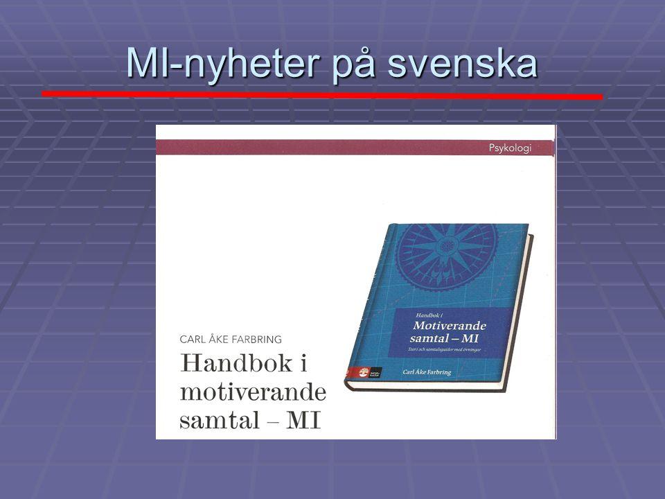 MI-nyheter på svenska