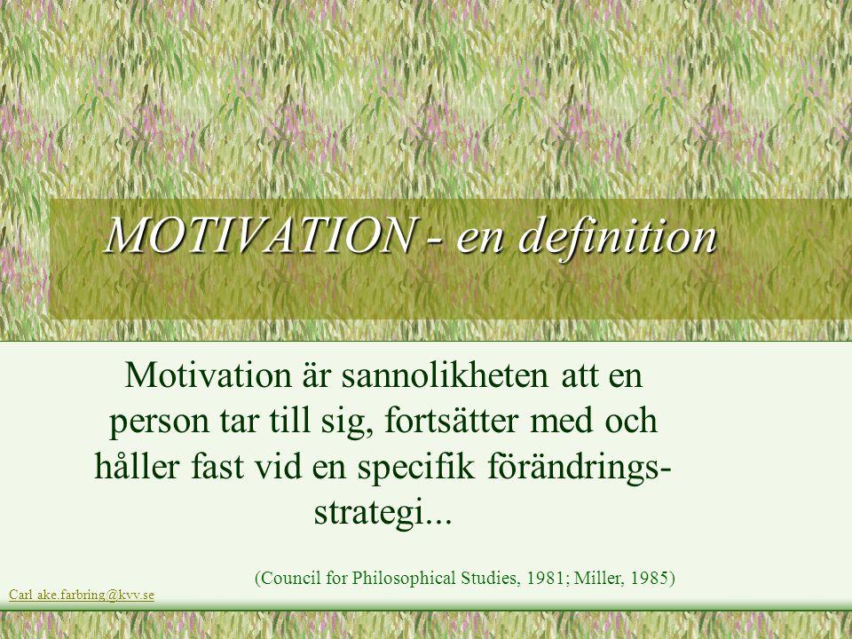 MOTIVATION - en definition