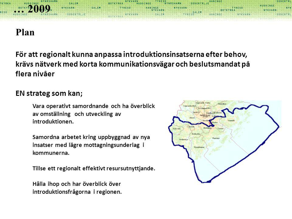 … 2009 Plan.