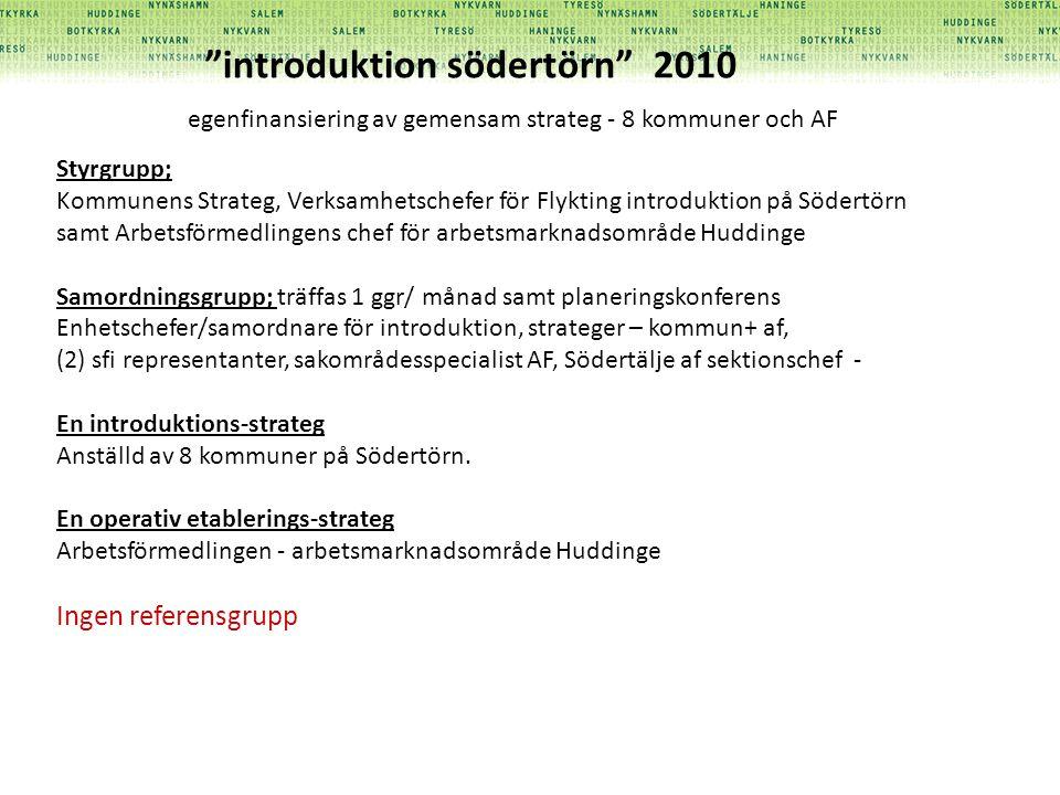 introduktion södertörn 2010
