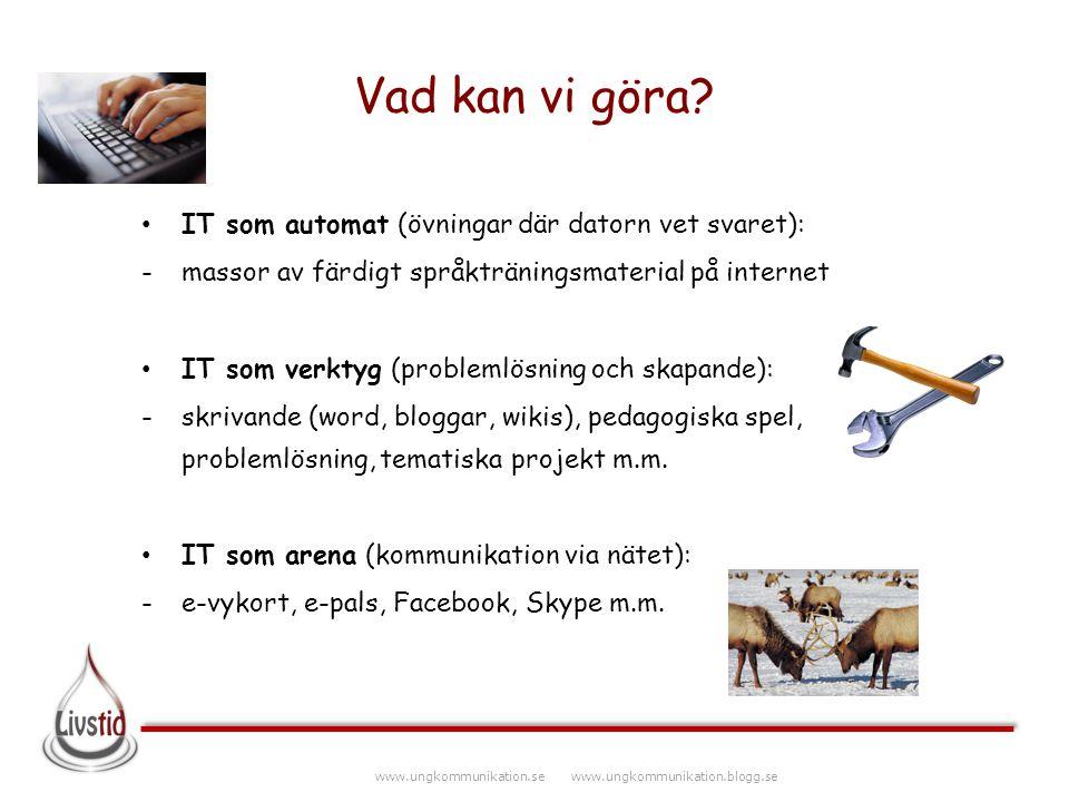 www.ungkommunikation.se www.ungkommunikation.blogg.se