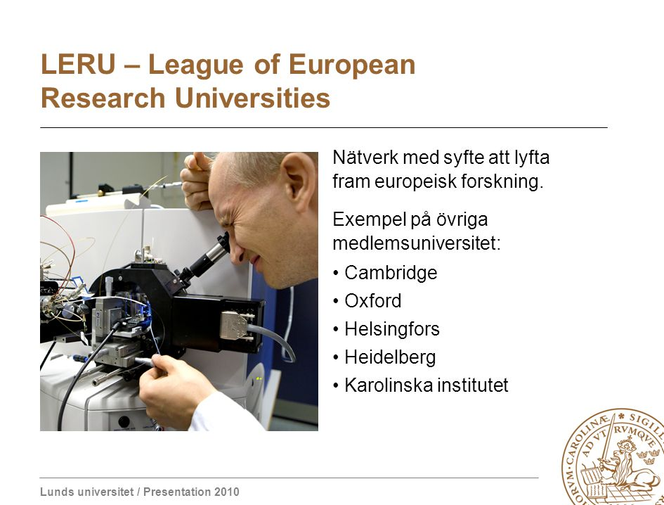 LERU – League of European Research Universities