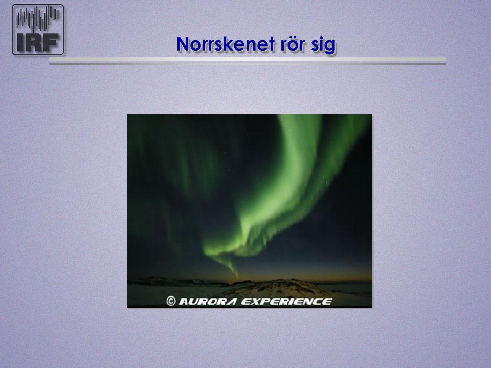 Norrskenet rör sig