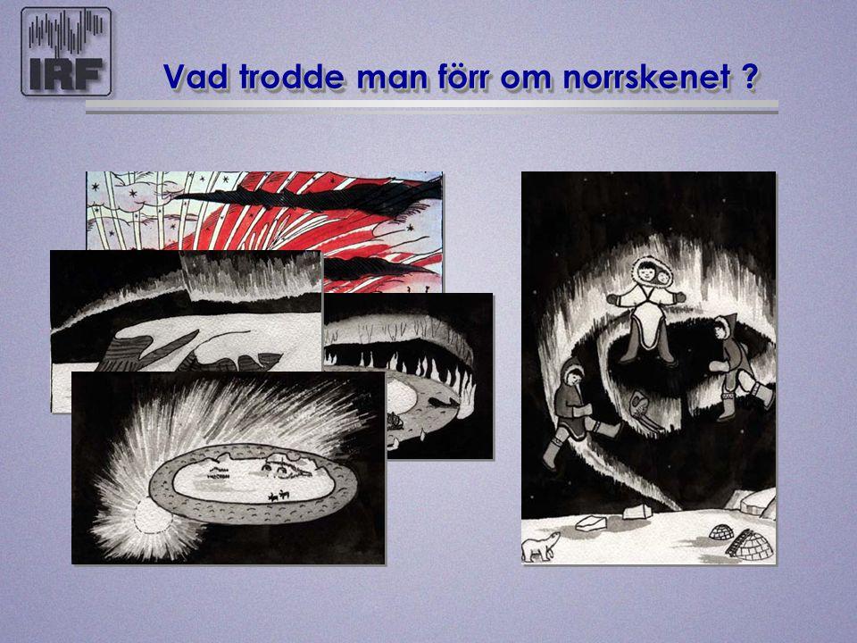 Vad trodde man förr om norrskenet