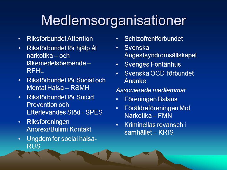 Medlemsorganisationer