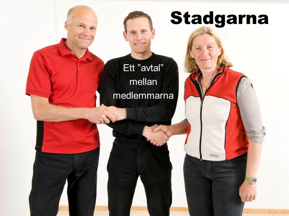Stadgarna Ett avtal mellan medlemmarna