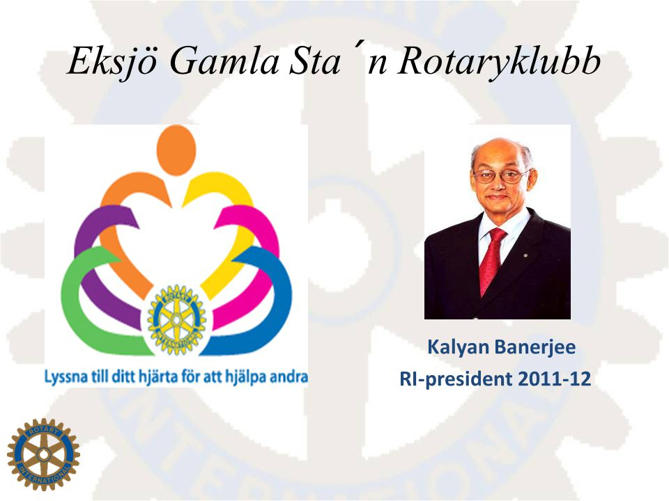 Kalyan Banerjee RI-president 2011-12