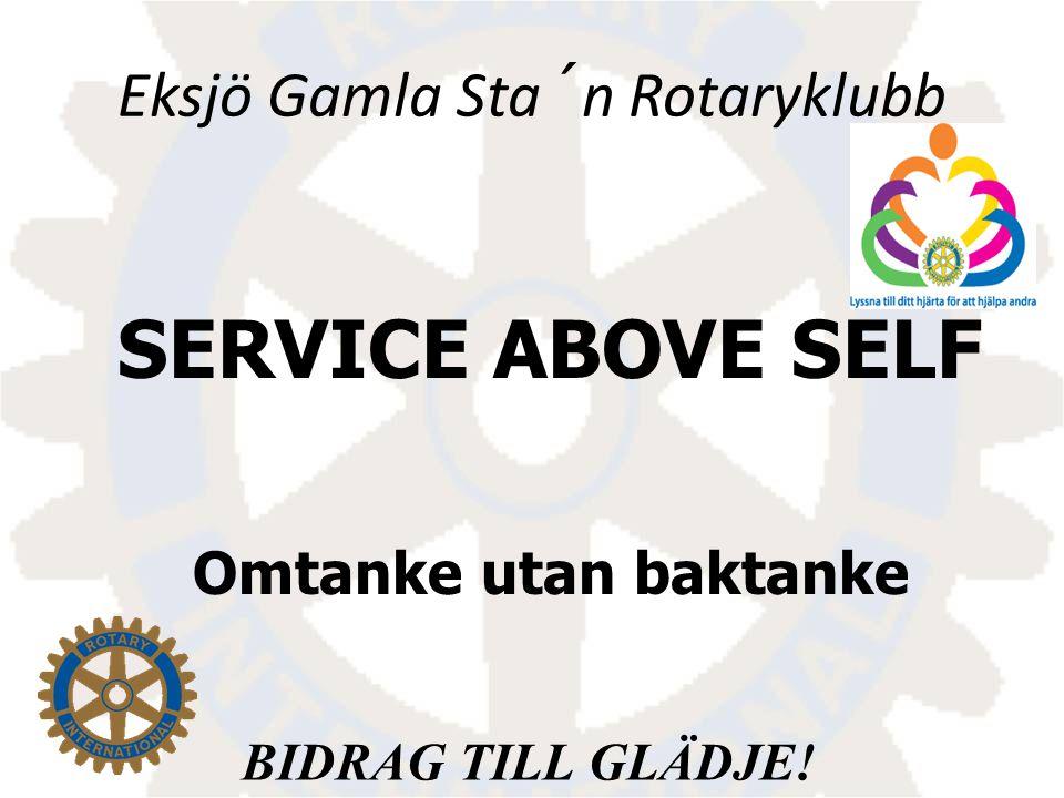 Eksjö Gamla Sta´n Rotaryklubb