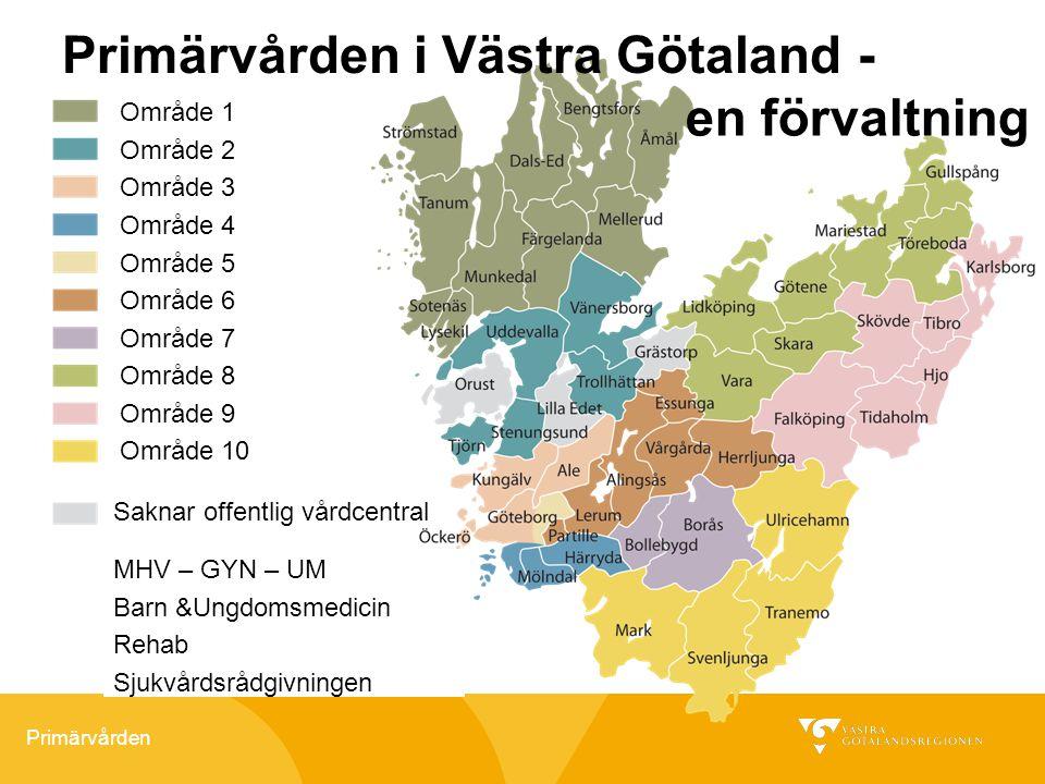 Primärvården i Västra Götaland -