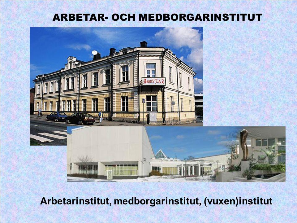 ARBETAR- OCH MEDBORGARINSTITUT