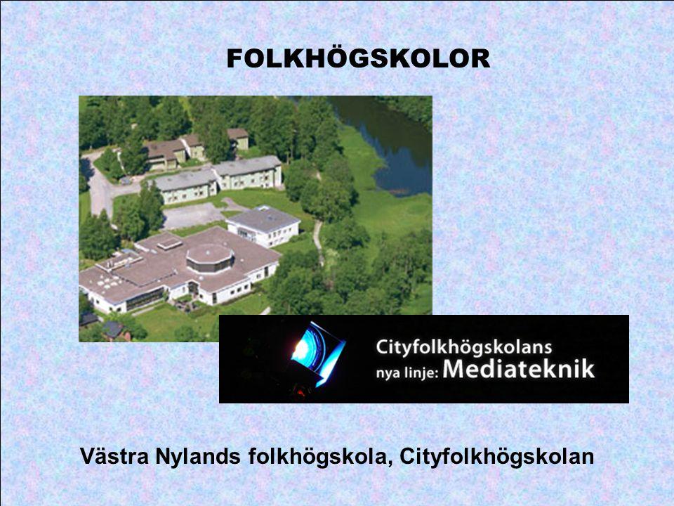 FOLKHÖGSKOLOR Västra Nylands folkhögskola, Cityfolkhögskolan