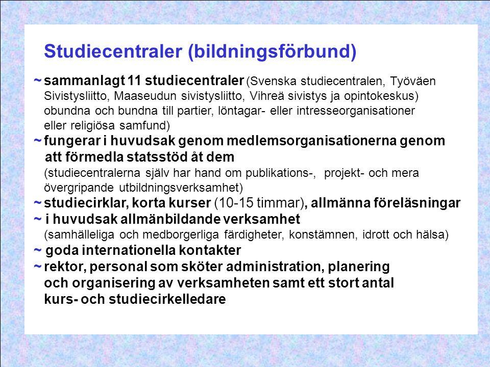 Studiecentraler (bildningsförbund)