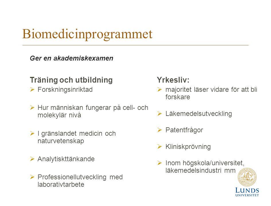 Biomedicinprogrammet