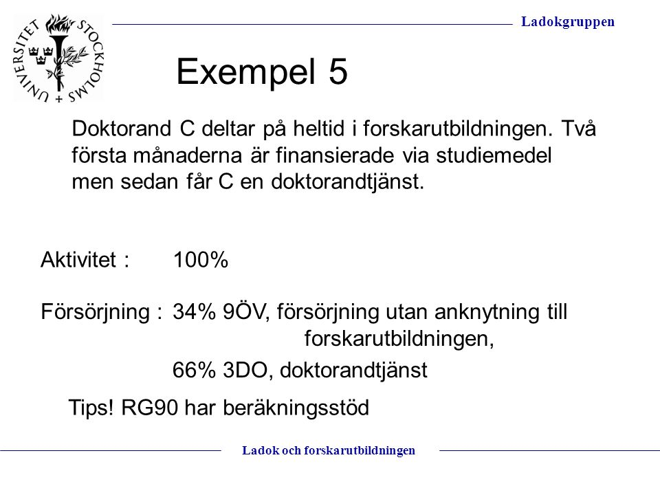 Exempel 5
