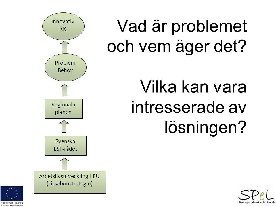 Arbetslivsutveckling i EU (Lissabonstrategin)