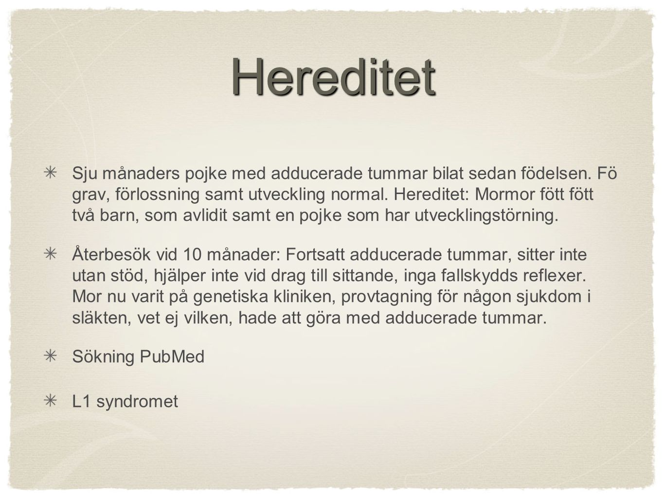 Hereditet