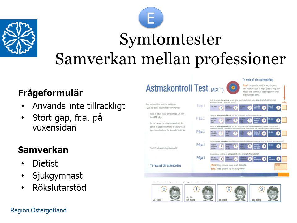 Symtomtester Samverkan mellan professioner