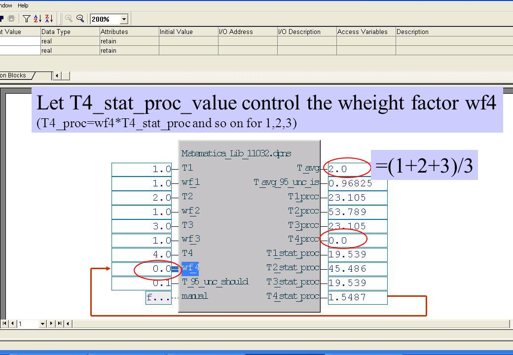 Let T4_stat_proc_value control the wheight factor wf4