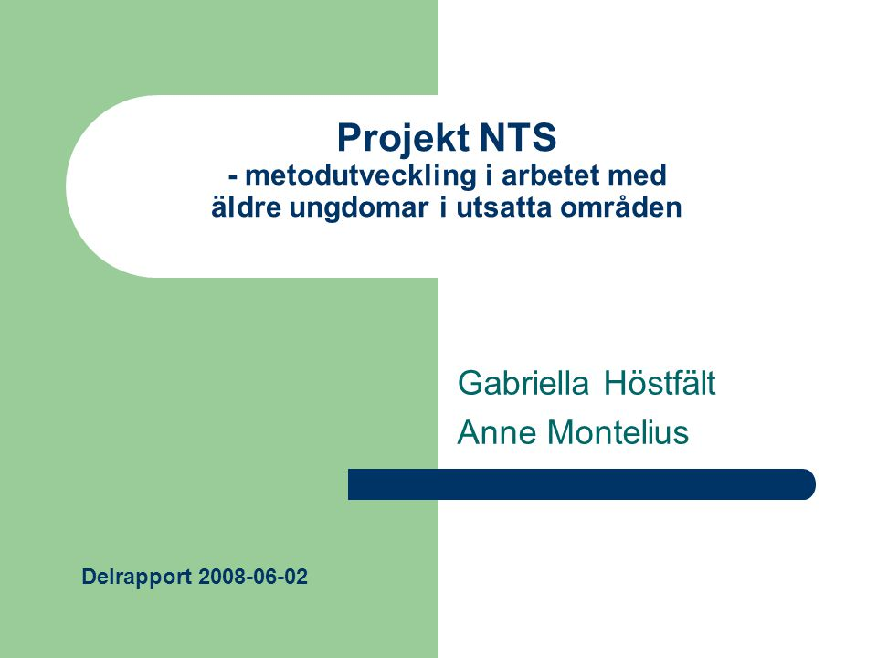 Gabriella Höstfält Anne Montelius