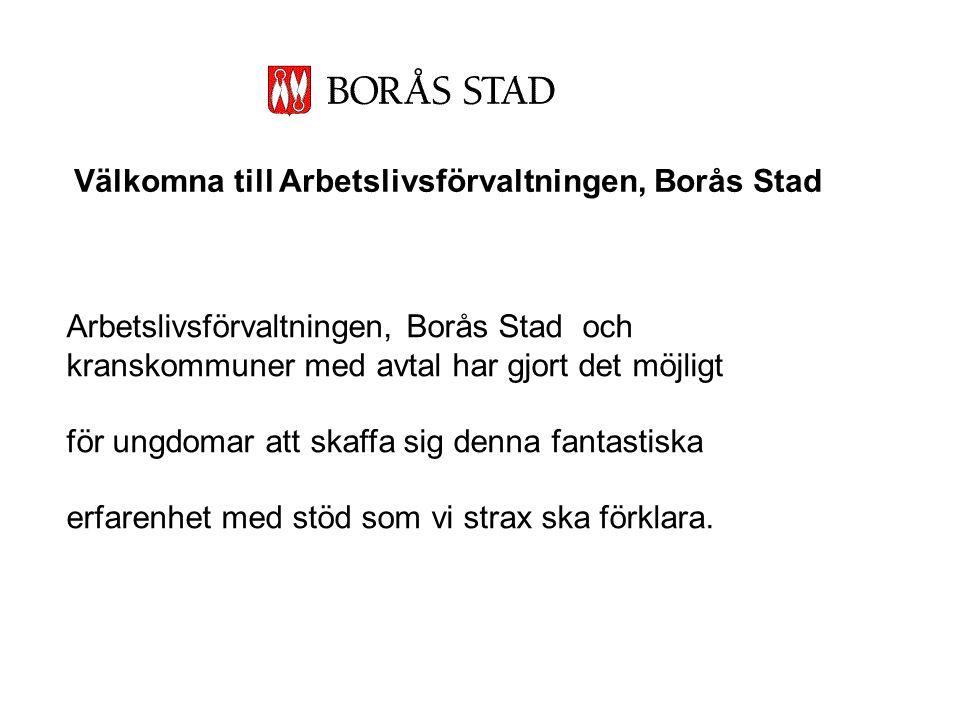 Välkomna till Arbetslivsförvaltningen, Borås Stad