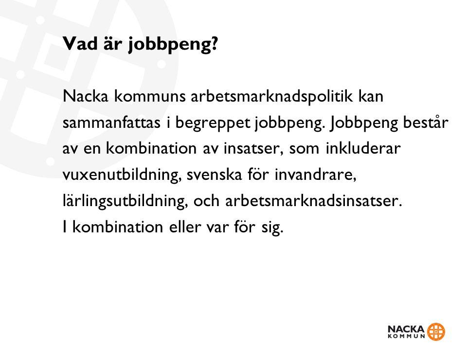 Vad är jobbpeng