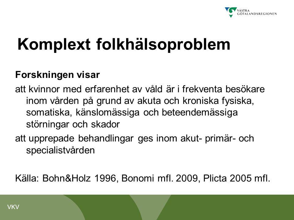 Komplext folkhälsoproblem