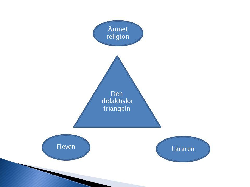 Den didaktiska triangeln