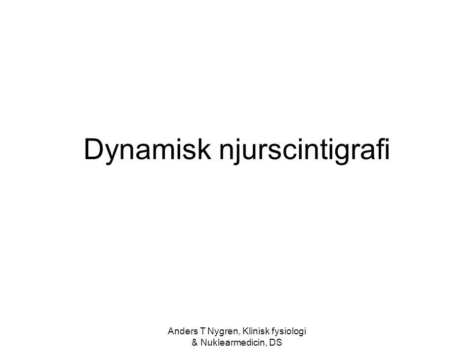 Dynamisk njurscintigrafi