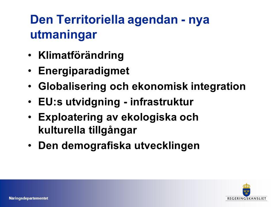 Den Territoriella agendan - nya utmaningar