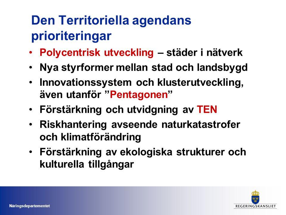 Den Territoriella agendans prioriteringar