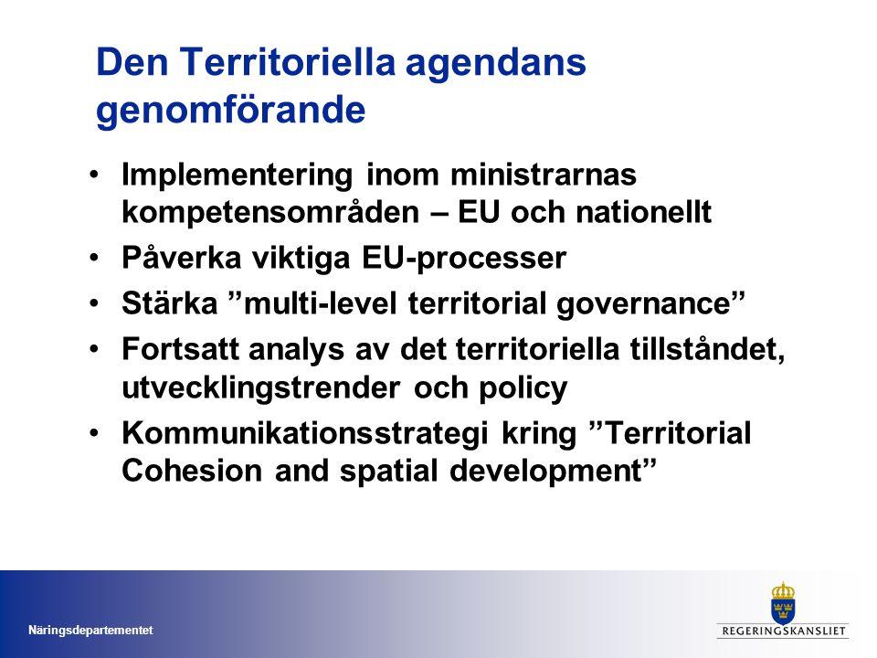 Den Territoriella agendans genomförande