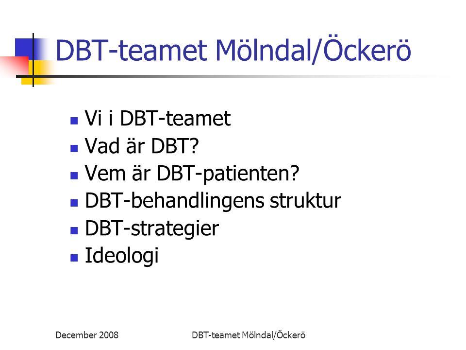 DBT-teamet Mölndal/Öckerö