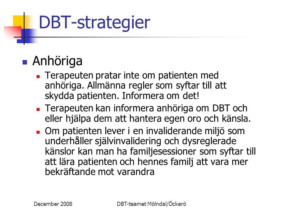 DBT-strategier Anhöriga