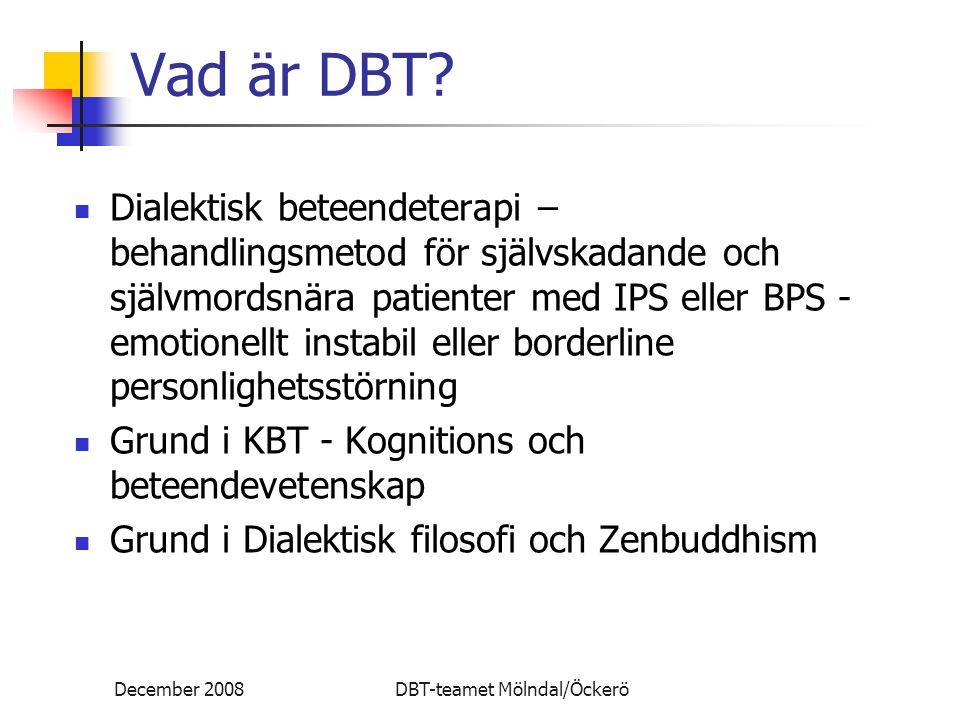 Vad är DBT