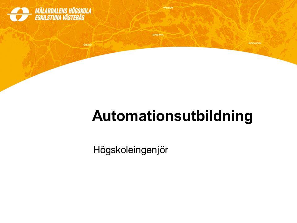 Automationsutbildning