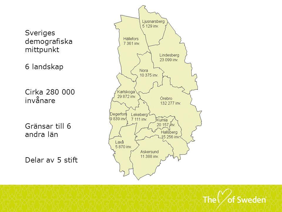 Sveriges demografiska mittpunkt