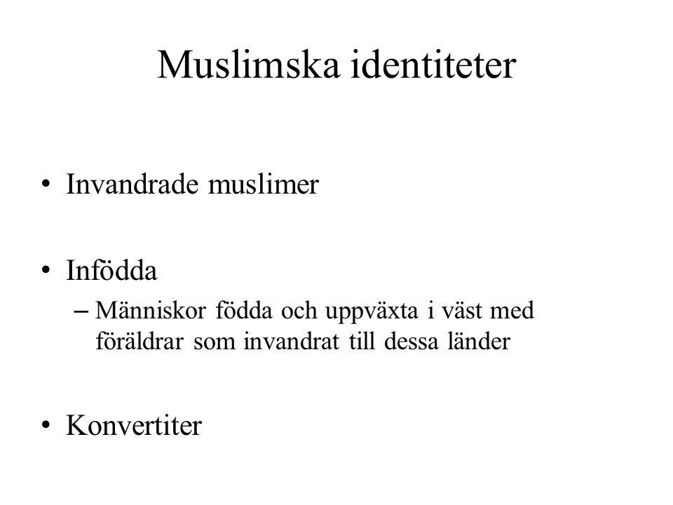 Muslimska identiteter