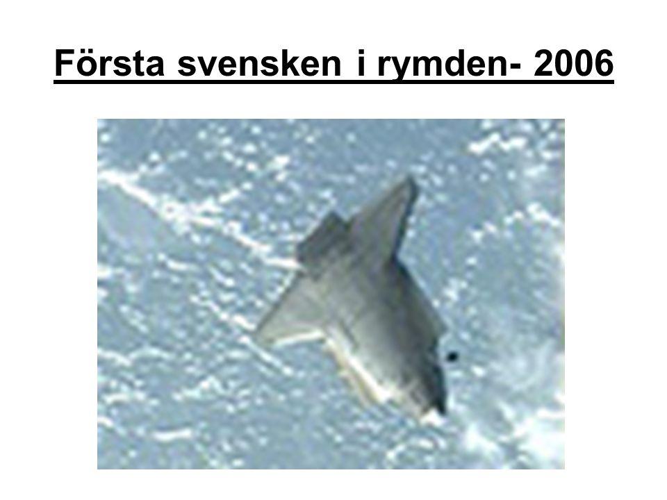 Första svensken i rymden- 2006
