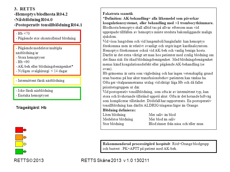 Postoperativ tonsillblödning R04.1