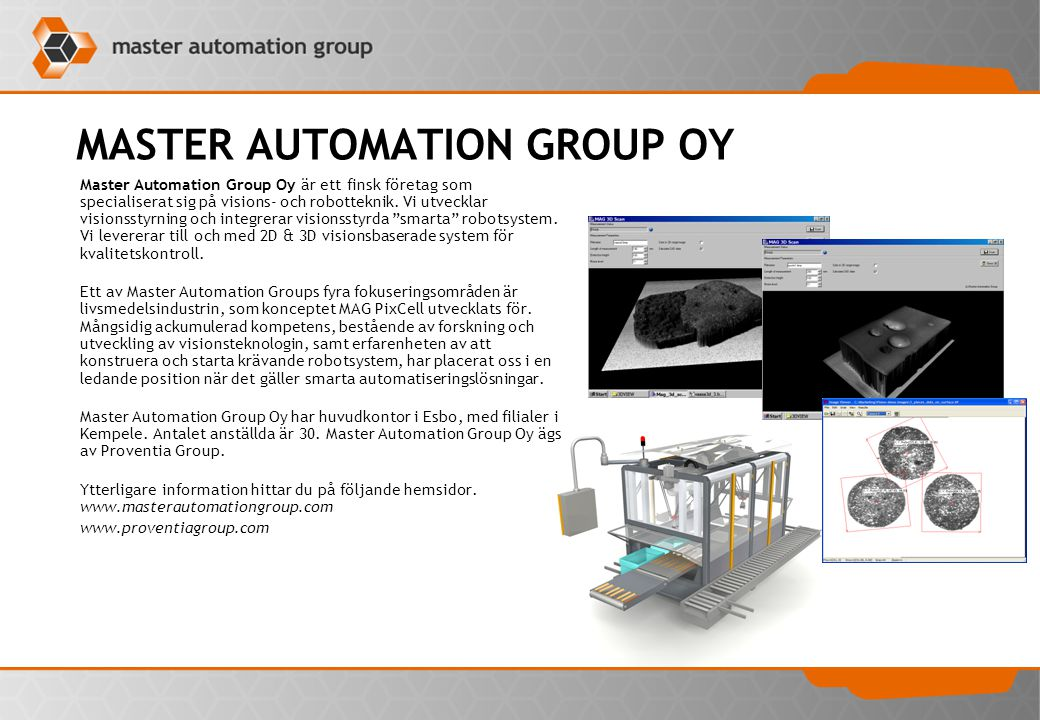 MASTER AUTOMATION GROUP OY