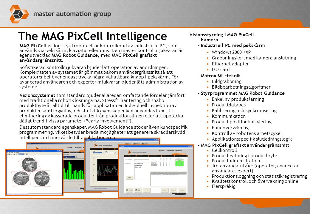 The MAG PixCell Intelligence