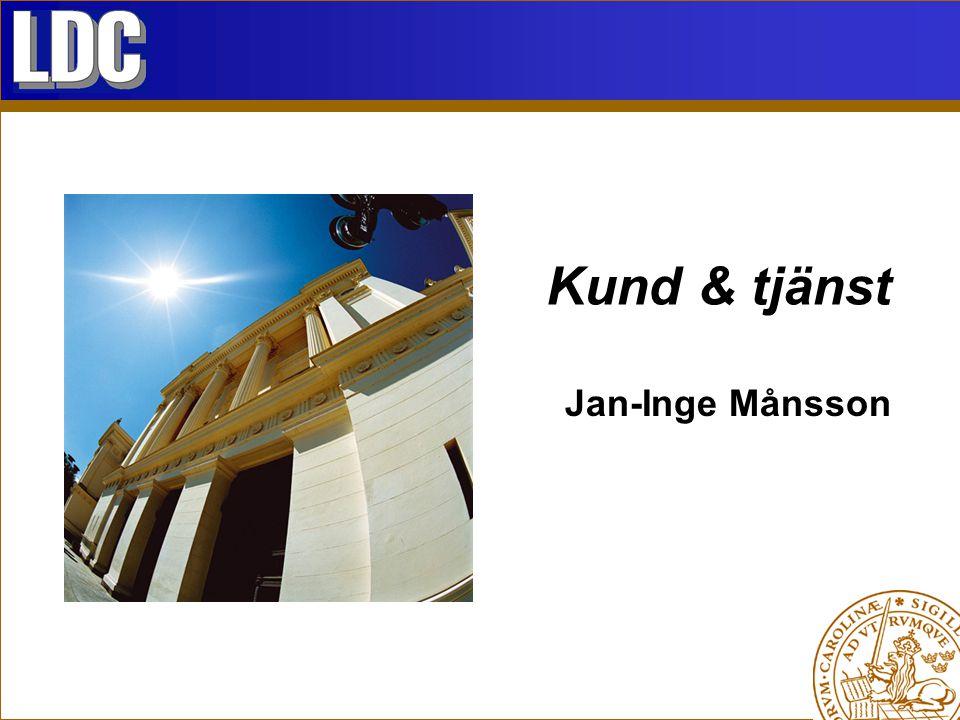 Kund & tjänst Jan-Inge Månsson