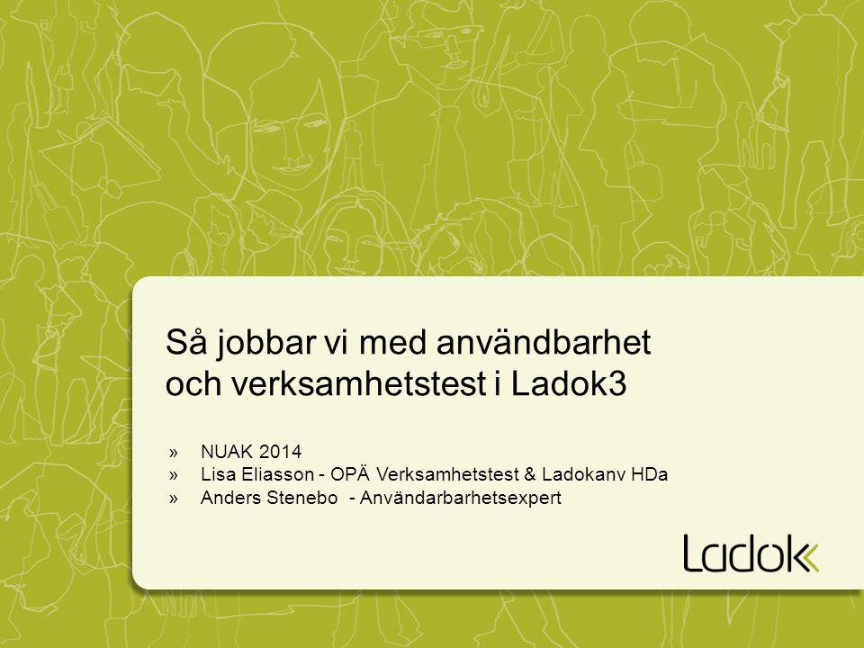 Så jobbar vi med användbarhet och verksamhetstest i Ladok3