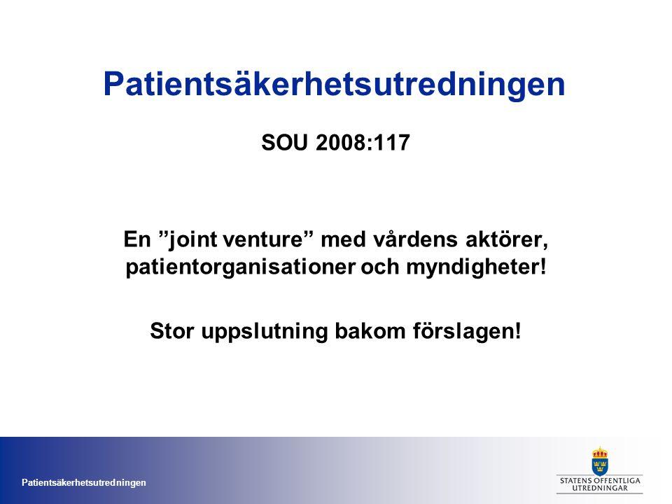 Patientsäkerhetsutredningen