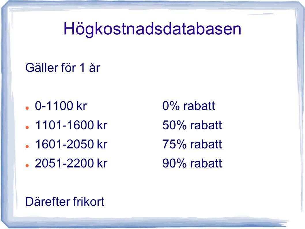 Högkostnadsdatabasen