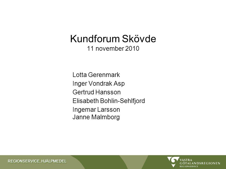 Kundforum Skövde 11 november 2010