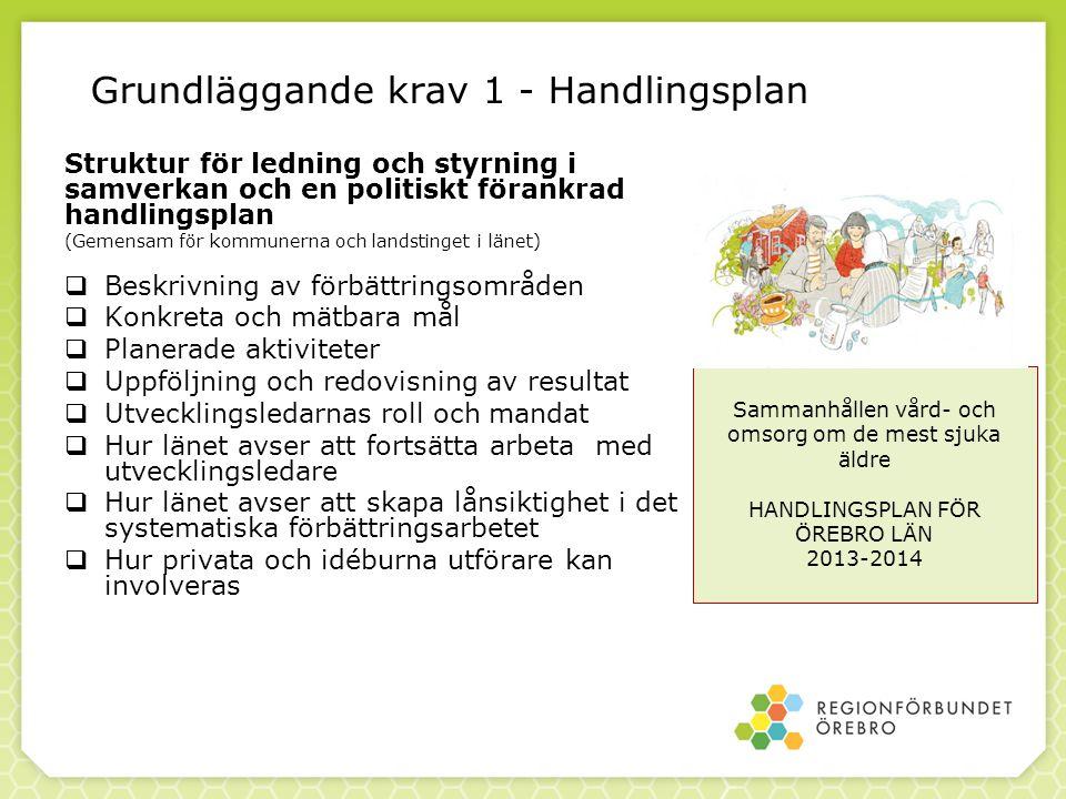 Grundläggande krav 1 - Handlingsplan